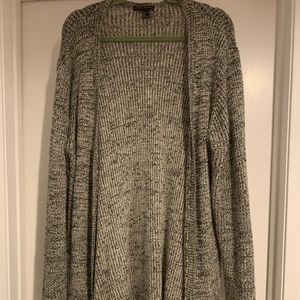 Forever 21 Long Gray Sweater